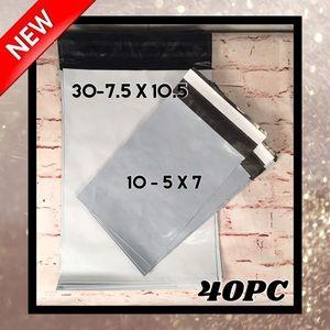 🏡 40PC Plain Polymailers